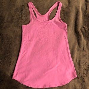 lululemon athletica Tops - Lululemon Pink Racerback Tank Top